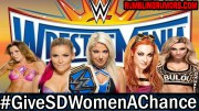 GiveSDWomenAChance Trends #1 Worldwide & Has WWE Fans Pretty Upset.