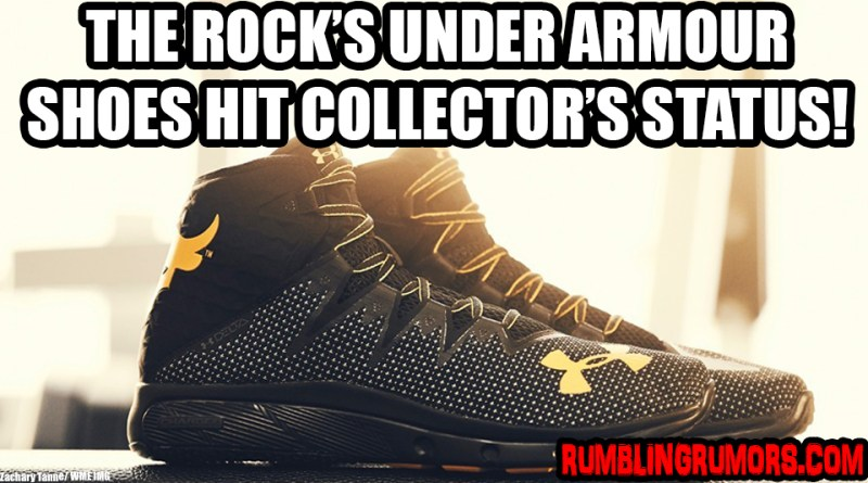 The Rock's Under Armour Sneaker Hit's Collector's Status By Selling Out Twice!