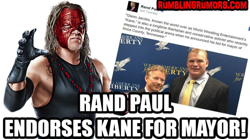 KANE Receives First Major Political Endorsement!