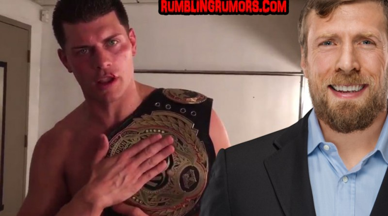 Cody Rhodes Responds To Daniel Bryan's Challenge For ROH World Title!