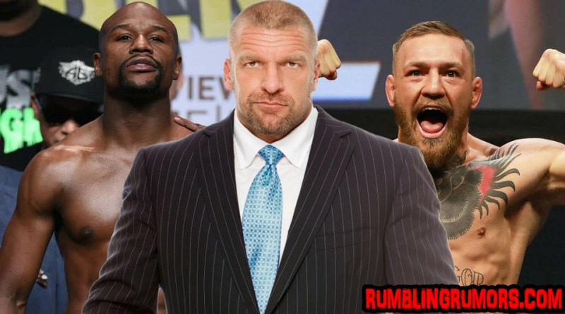 Triple H Invites Mayeather and McGregor Again To Monday Night Raw.