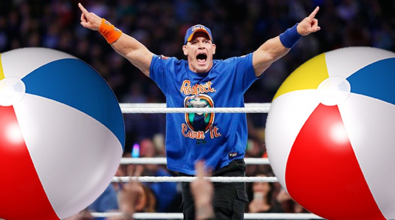 WWE Fans Ejected from RAW Over Beach Balls; Cena Addresses Brooklyn Crowd.