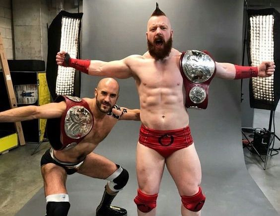 "Sheamus Getting Treatment on ""Career Ending"" Injury."