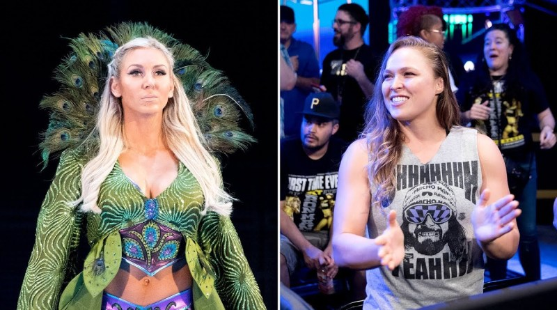 Charlotte Flair Addresses Rumors Of Ronda Rousey To WWE.