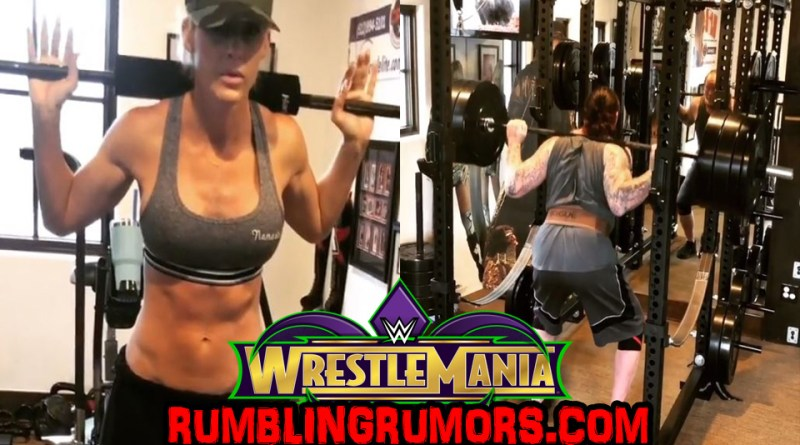 Undertaker Training With His Wife……Could It Be A Wrestlemania 34 Workout?