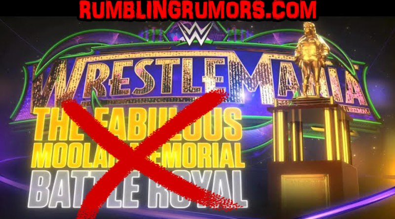 Breaking: Public Backlash Forces WWE To Drop Fabulous Moolah's Name From Battle Royal.