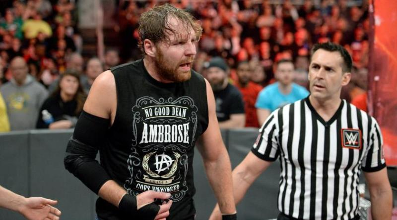 Dean Ambrose Injury Update: March 2018.