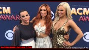WWE Superstars Becky Lynch, Lana and Mickie James At The ACM Awards Tonight (Pictures & Videos).