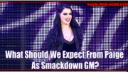 What Should We Expect From Paige as Smackdown GM?