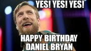 WWE Superstar Daniel Bryan Celebrates His 37th Birthday Today: Video