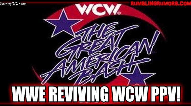WWE Reviving Old WCW Pay Per View! - RumblingRumors