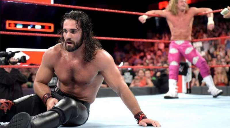 Seth Rollins Comments On Losing His Intercontinental Title.