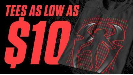 WWESHOP TEES 10 DOLLAR SALE