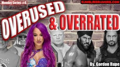 Sasha Banks Overused and Overrated
