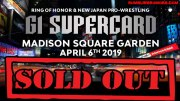G1 Sells Out Madison Square Garden.