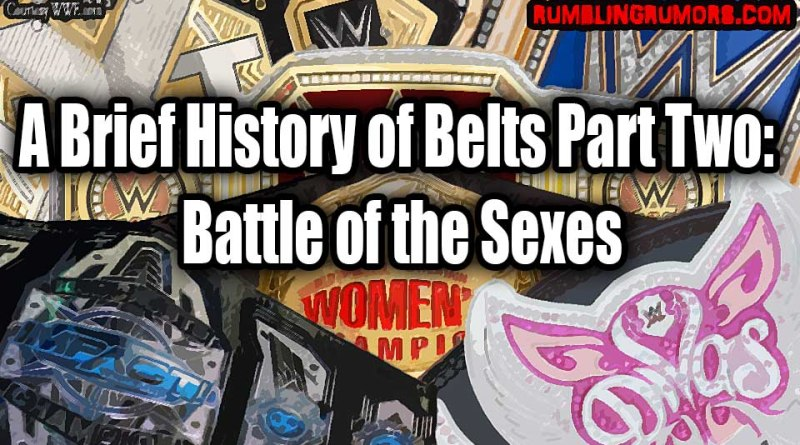 A Brief History of Belts Part Two: Battle of the Sexes