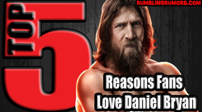 5 Reasons Fans Love Daniel Bryan