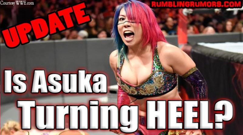 Is Asuka Turning HEEL? (UPDATE)