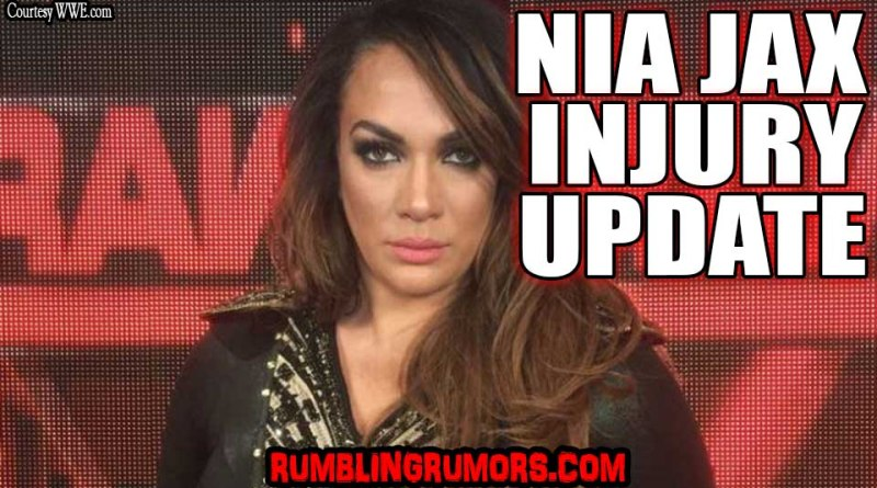 Nia Jax Injury Update September 6th 2018