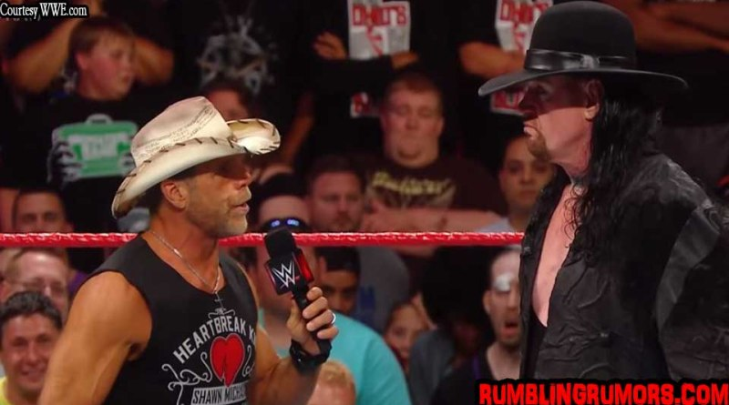 UNDERTAKER AND HBK RAW