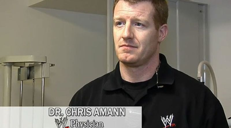 The Countdown for WWE's Doctor, Chris Amann.