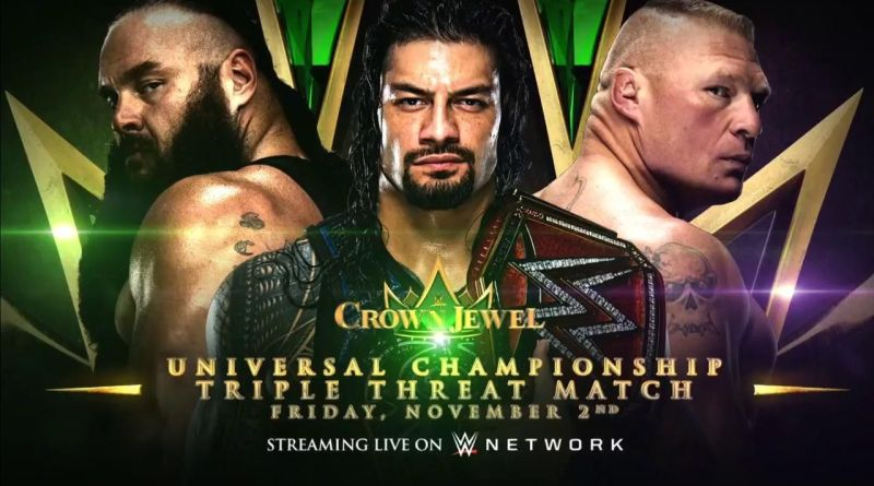 Should WWE Replace Roman at Crown Jewel?