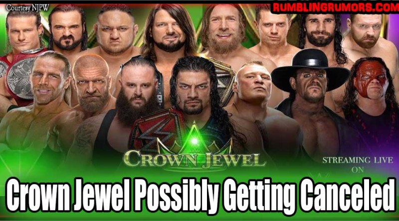 Crown Jewel Possibly Getting Canceled.