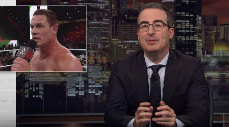 "WWE/Saudi Arabia Topic On ""Last Week Tonight With John Oliver"" (Video)"