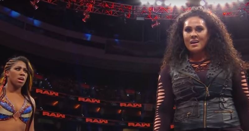 Tamina Makes Her Return On Monday Night RAW!