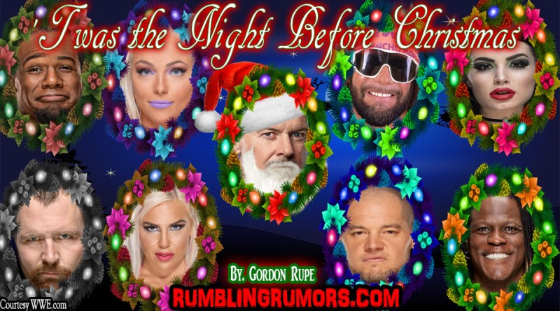 Twas the Night Before Christmas WWE EDITION
