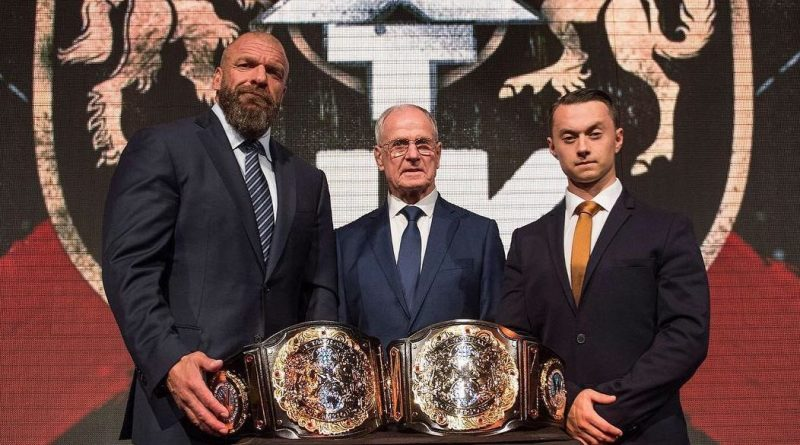NXT UK Tag Team Titles Revealed!