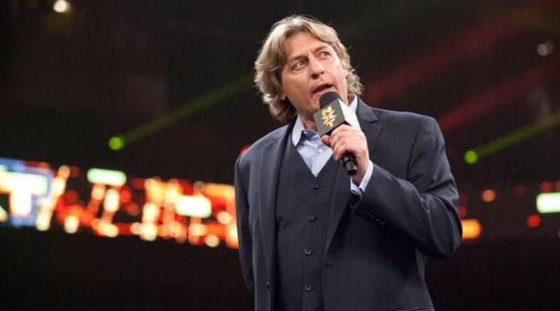 William Regal Announces NXT Tag Team Title Match