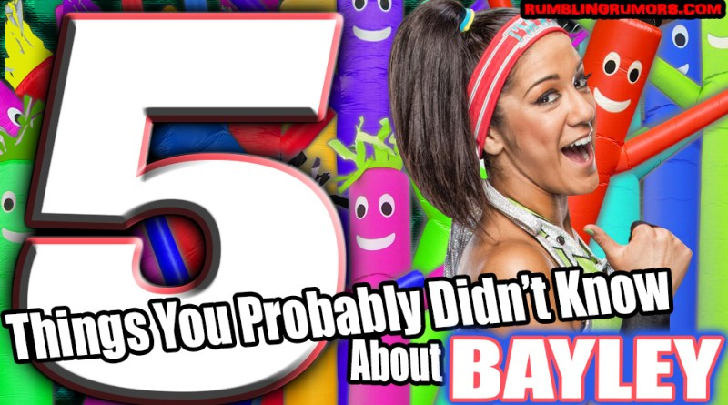 5 Things You Probably Didn't Know About Bayley