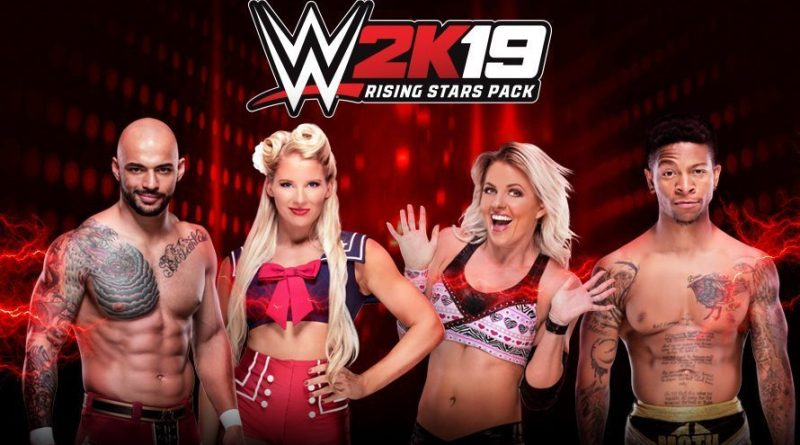 WWE 2K19 Rising Stars Pack DLC Now Available (Video).