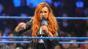 Becky Lynch Ditches Crutches & No Longer Selling Knee Injury (Picture)