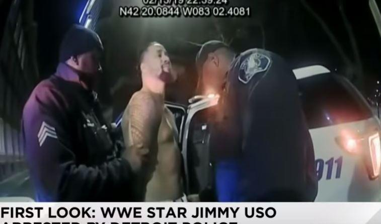 Video of WWE's Jimmy Uso's Arrest Released By Detroit Police