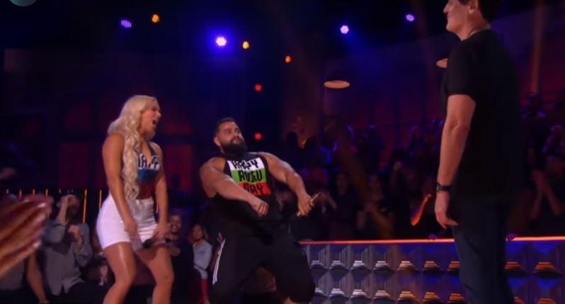Watch Rusev & Lana Battle Mark Cuban On Drop The Mic