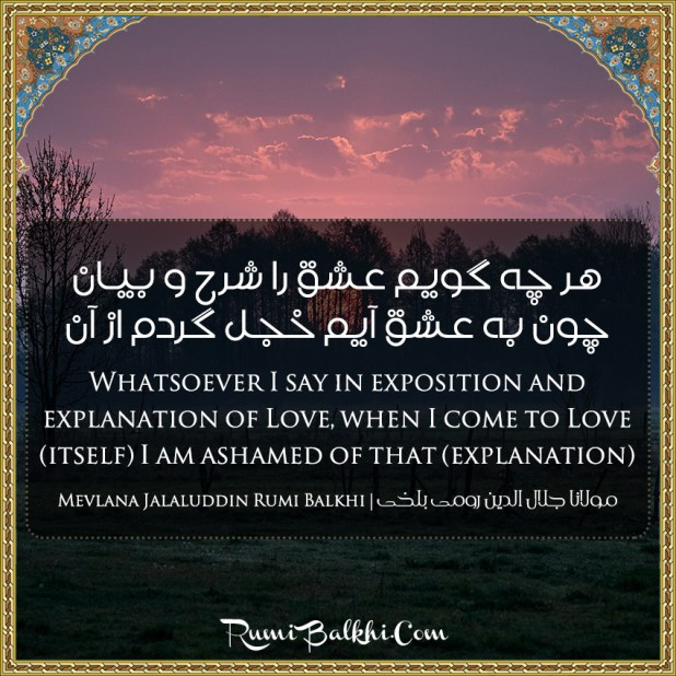Whatsoever I Say In Exposition And Explanation Of Love When I Come To Love Itself I Am Ashamed Of That Explanation