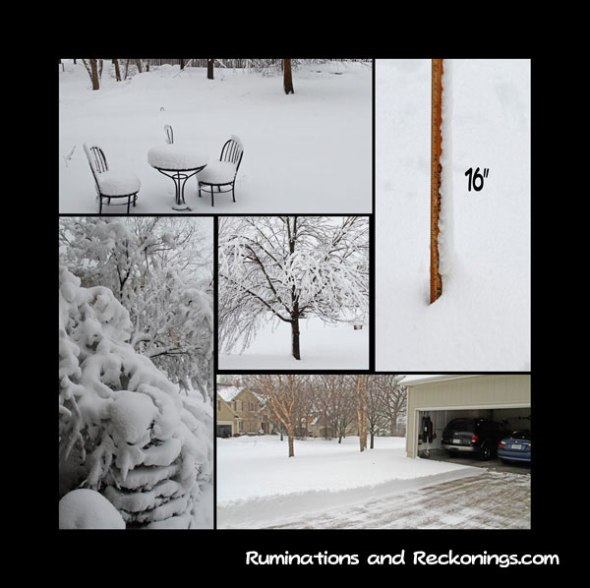 snow-collage