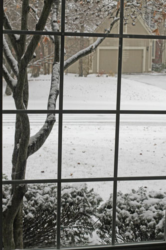 snow-outside