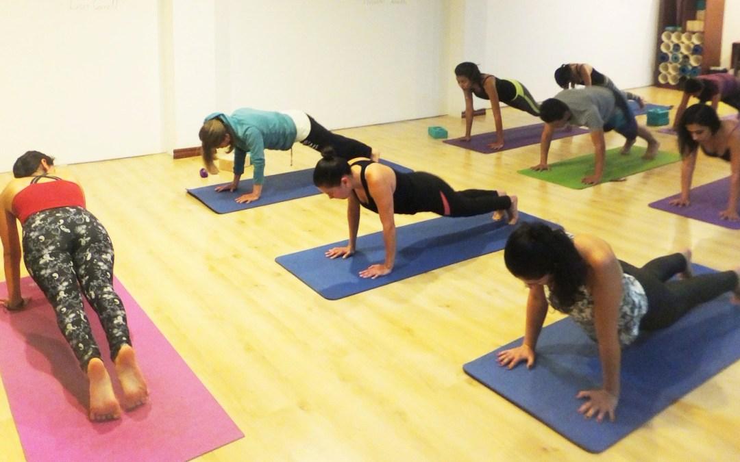 Nuevo horario este mes–más yoga!