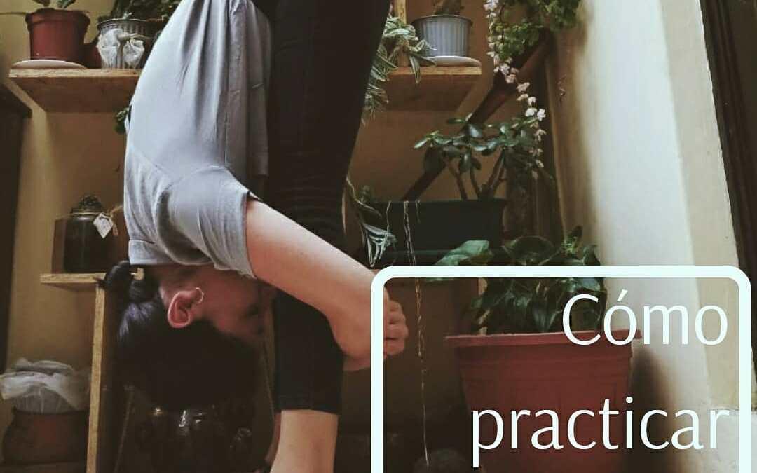 Cómo practicar: Uttanasana