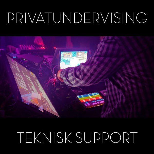 Privatundervisning teknisk support