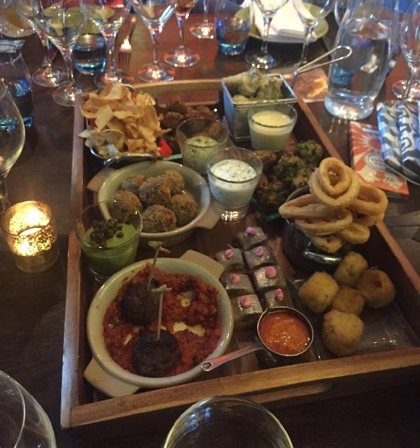 Rotunda food platter