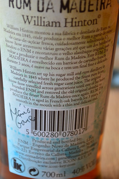 Information on the label