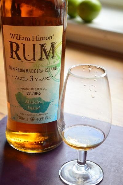 William Hinton aged rum