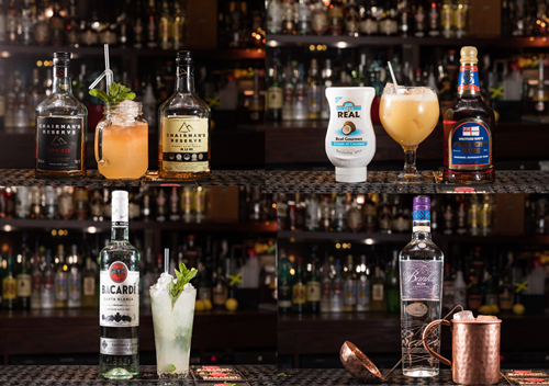 manchester rum fest cocktails
