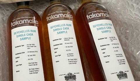 takamaka rum - single cask