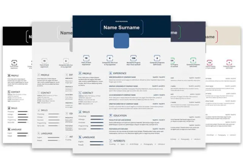 Creative Resume Template - MS Word