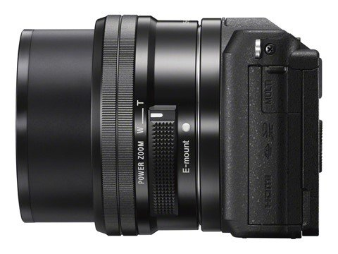 Sony A5100 (Samping), Image Credit : Sony